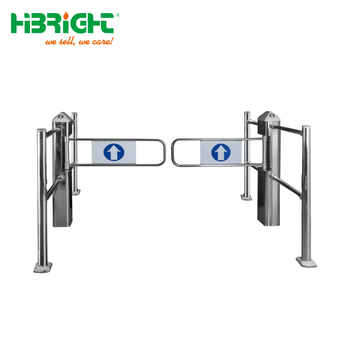 Automatic access control speed turnstile swing barrier supermarket entrance gate