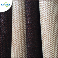2018 Strong Pattern Multicolor Glitter Fabric Leather For Hot Sale