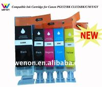 Compatible Ink Cartridge for Canon PGI-525BK CLI-526BK/C/M/Y/GY