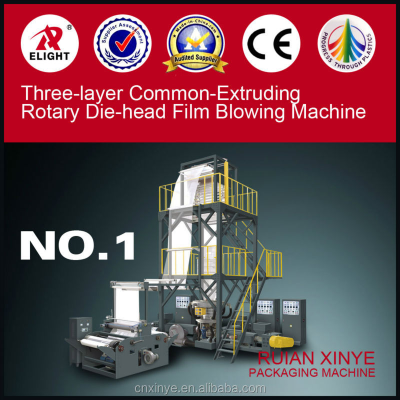 XY Series Common-Extruding Rotary Die-head Film Blowing Machine,Ruian Xinye Extruding machine, Film extrusion blown Machine