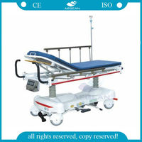 AG-HS006 CE ISO luxurious hydraulic hospital emergency basket stretcher