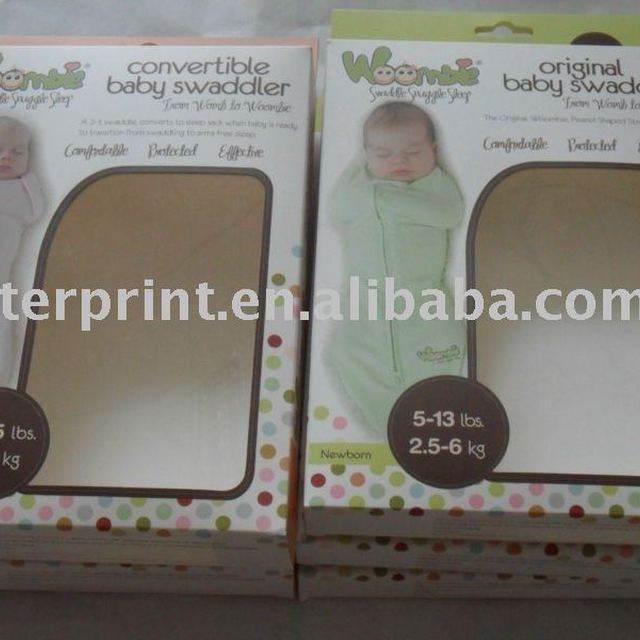 packing paper bag and box printing service with PVC window