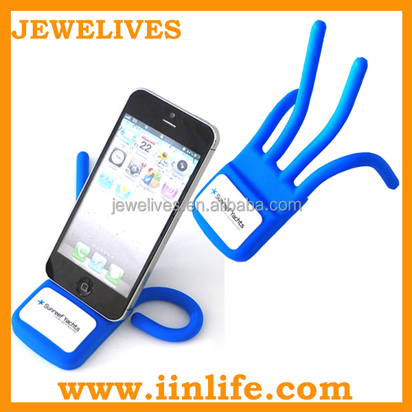 Small manufacturing ideas adjustable silicone mobile phone holder
