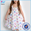 Yihao Fashion kids cotton comfortable soft princess dress for baby girl 2015 summer wholesale