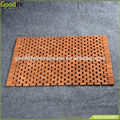 Teak wood mat foldable & anti-slip waterproof bath mat