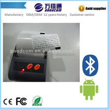 GOODCOM MTP58B 58mm Mini Bluetooth Printer for Event Ticket with Text and QR Code