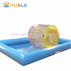 High quality inflatable water toys /inflatable water roller ball