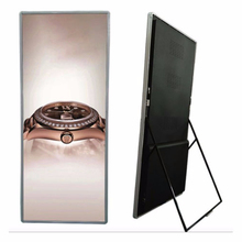 <strong>rgb</strong> P2.5 P3 led poster stand wireless led commercial advertising display screen board