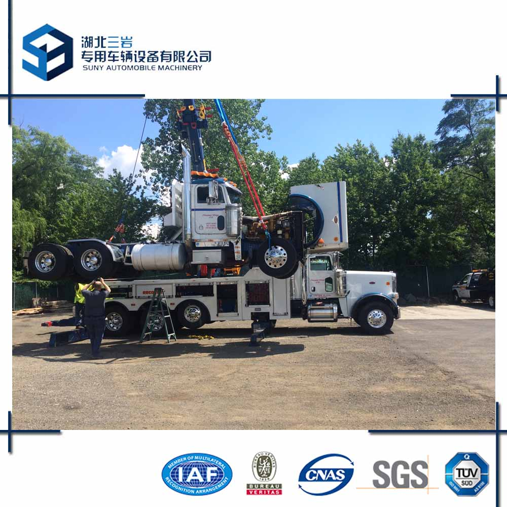 50 Ton Sliding Heavy Duty Rotator Recovery Truck For Sale