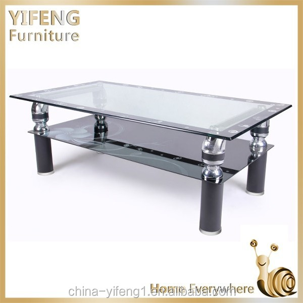 Horse metal cheap glass coffee table
