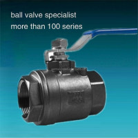 2PC Ball Valve Picture / 1000 WOG 2PIECE Carbon Steel Ball Valve CAD
