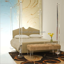 New style wholesale clear acrylic wedding sleeping bed tray