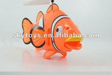 New&Funny 3CH 2012 flying fish NEW 3CH Remote control R/C Flying fish,Radio Control shark,RC Clown fish,Fly New toys flying fish