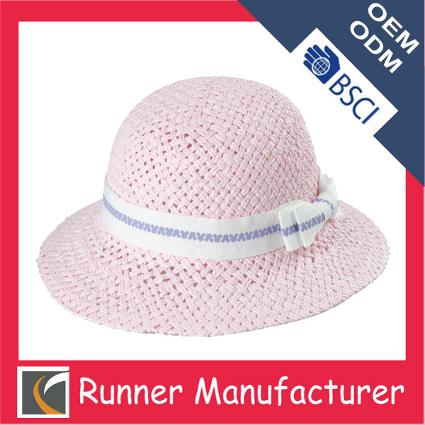 Kids straw hat wholesale multi color 46cm-56cm