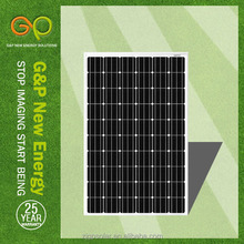 high efficiency low price solar panel made by ooi solar panel production line