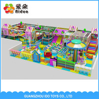 Day care center or Mcdonald's kid's zone indoor soft playground equipment