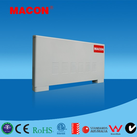 Ultra thin floor heating/cooling system fancoil(radiator)