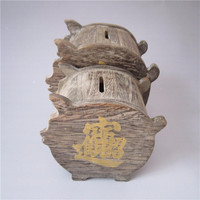 chinese wooden money saving tin boxes for decoration or gifts