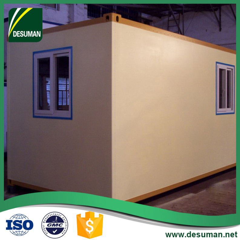 DESUMAN Batch manufacturing leisure style environment protection easy assemble customized static caravan for sale