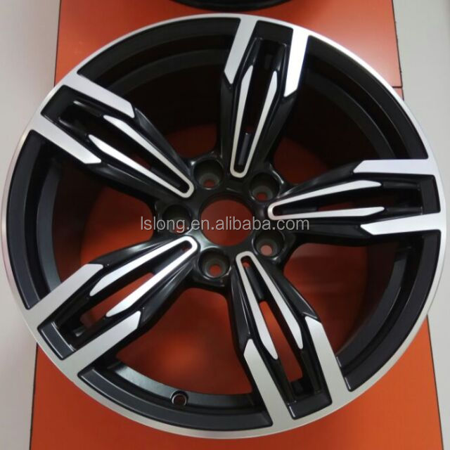 Wholesale 18 inch 120X5 car aluminium alloy wheel rim for Audi M5 M6