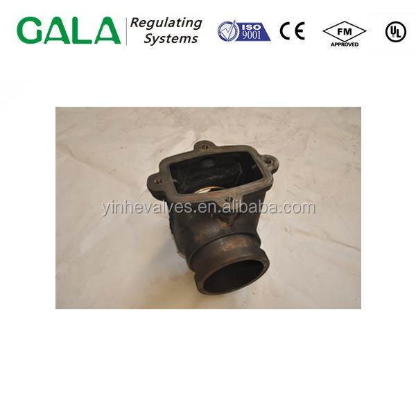 High Quality Lowest Price China Foctory Ductile Iron or Grey Iron Gate Valve Body Iron Casting