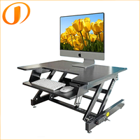 Modern Folding adjustable height Laptop computer Electric Sit Stand Desk