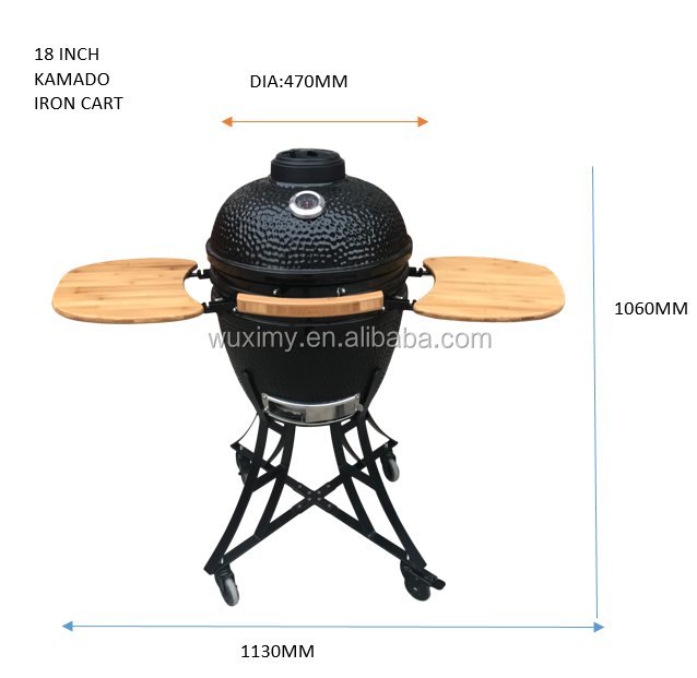 18 inch Outdoor Kitchen Charcoal BBQ Kamado