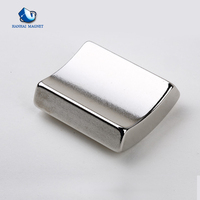 China Supplier N35-N52 Curved Rare Earth Motor Magnet