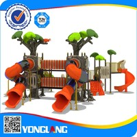 Kids promotional game play land playground equipment