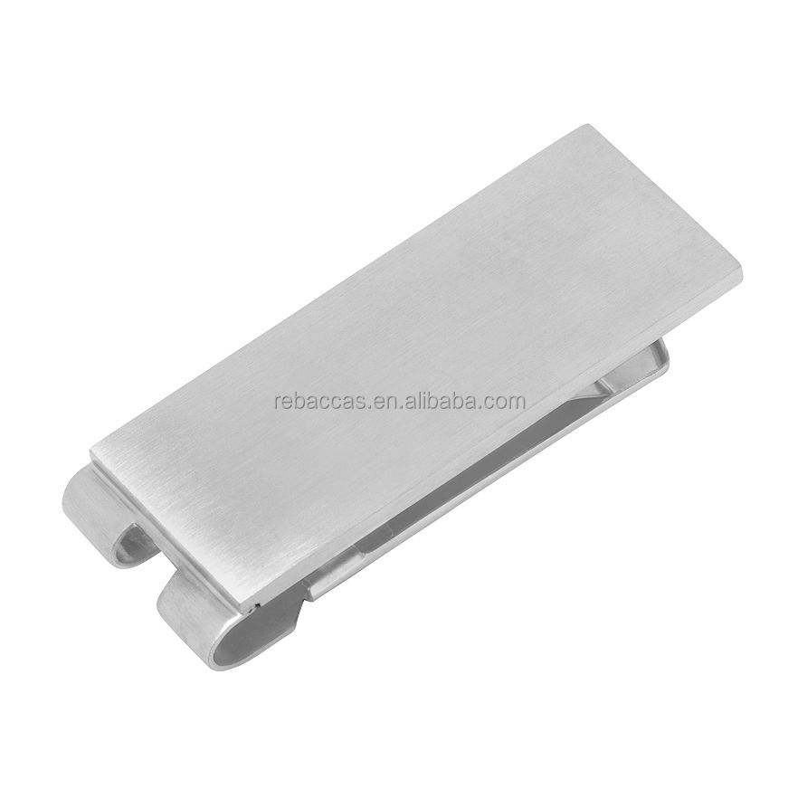 cool titanium personalized parts money clip