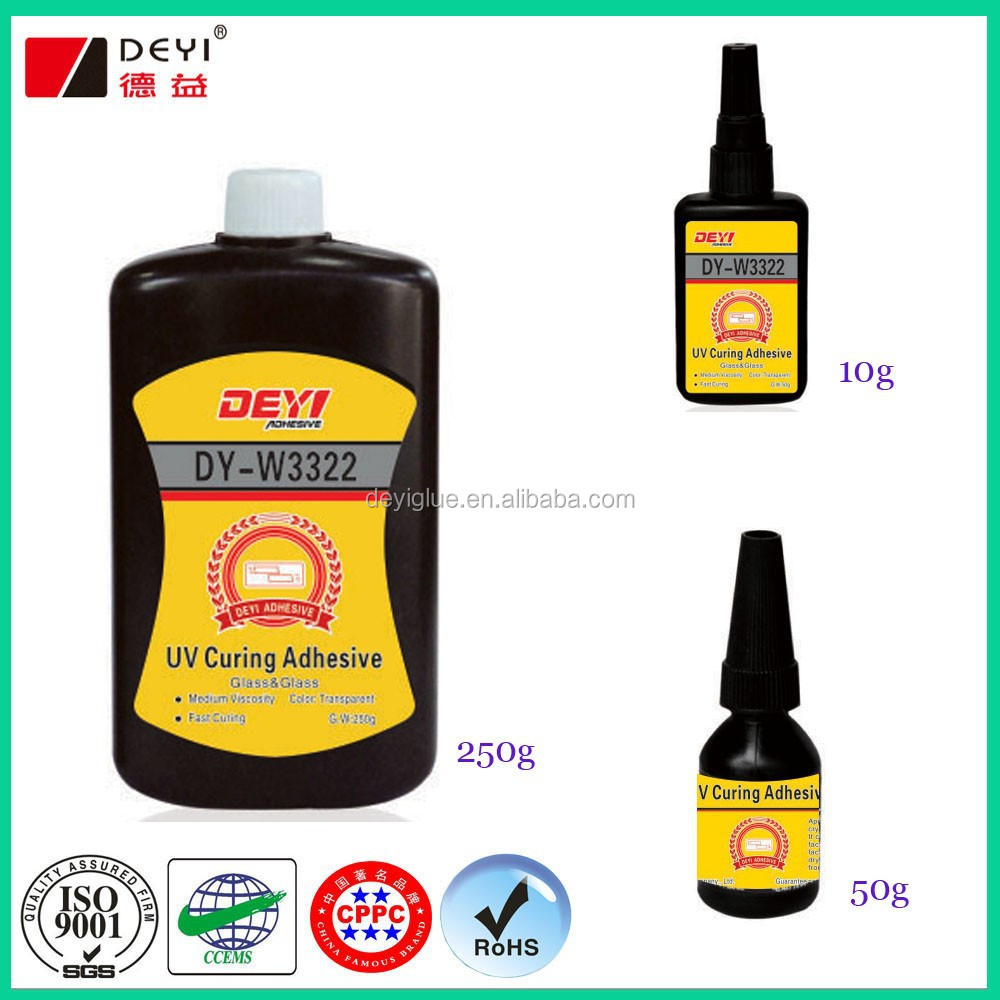 Clear UV adhesive for glass uv glue