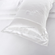 wholesale silk white pillowcase