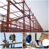 prefab warehouse and office price of structural steel
