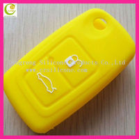 High quality silicone key casing/key shell/auto flip remote 2 button for cherry