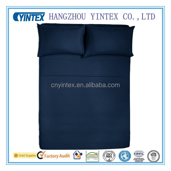 Customized size soft microfiber bed sheets also could for microfiber sofa cover