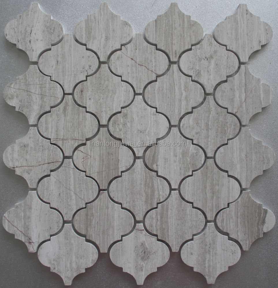 Golden select glass and stone mosaic wall tiles natural stone mosaic with marble mosaic tile on mesh