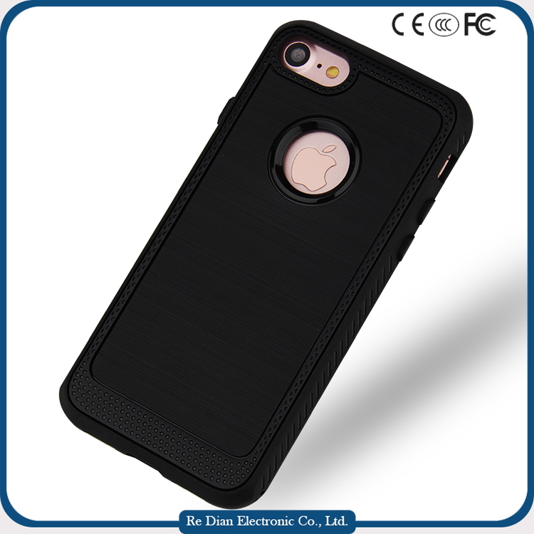 Factory Price Wholesales UV Oil Injection 3in1 Shockproof Phone Cover Protective Case For the Upcoming iPhone 7