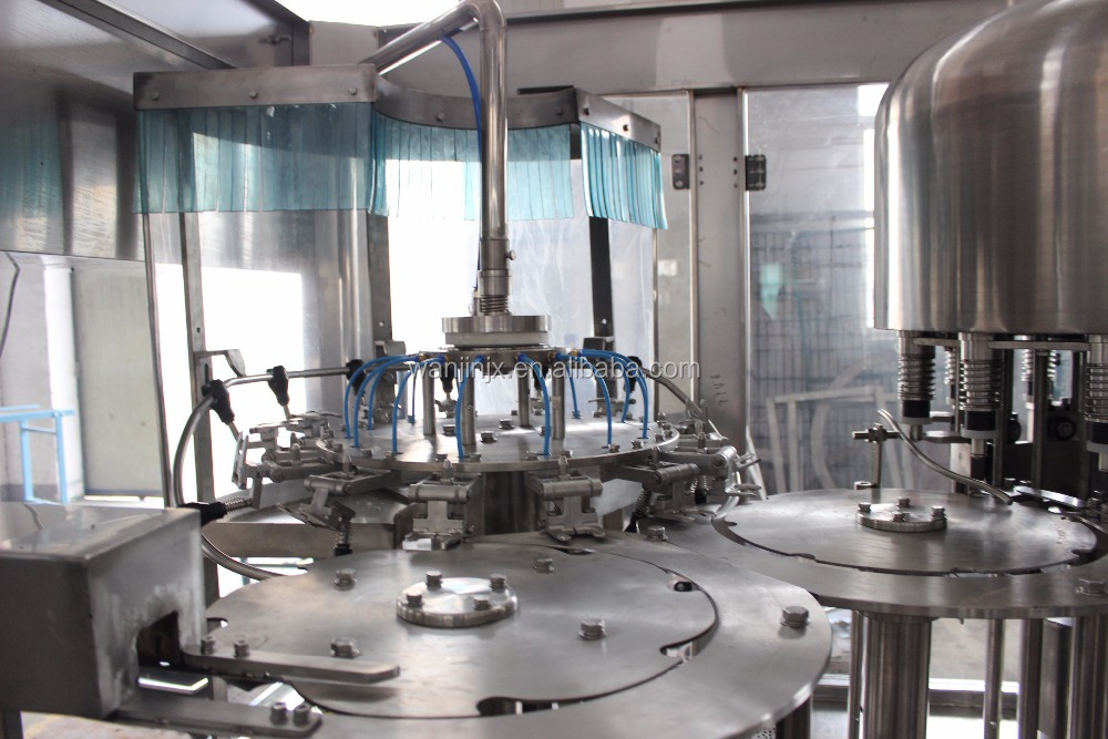 Automatic Filling Equipment for Soy Sauce / Vinegar