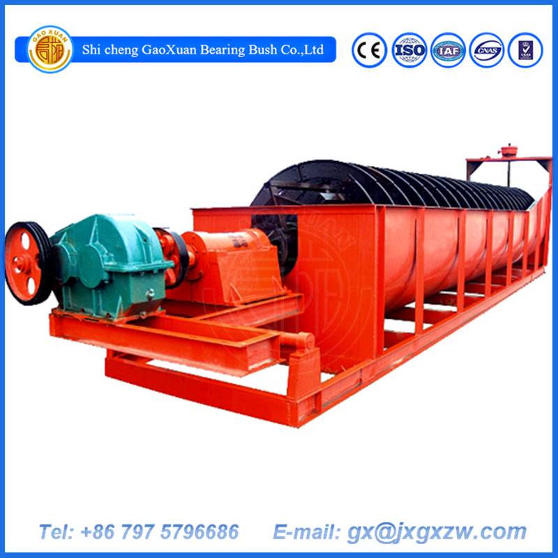 China Manufacture Provide Energy Saving High Weir Spiral Classifier
