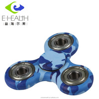 2017 Best selling!!!Hot Sale EDC Toys Hand Fidget Spinner metal 608 bearing triangle spinner