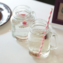 20 oz embossed mason jar glass canister set colored glass canister sets