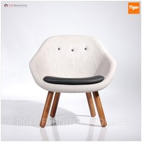 wishbone chair style danish design round lounge chair