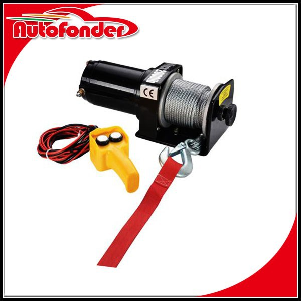 2000LBS 12VDC Self Recovery Electric Winch for Jeep Truck Trailer SUV CE 12v electric winch