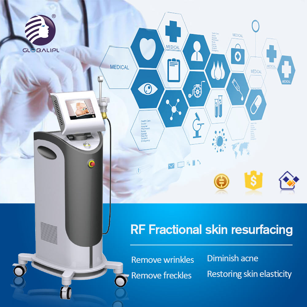 RF Fractional Skin Care Facial Cleaning Machine