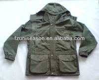 Country hunting wear mens suede winter jacket