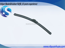 SZ-02 8in1 Multifunctioanl Soft frameless windshield wiper blade with customized logo package and adaptors