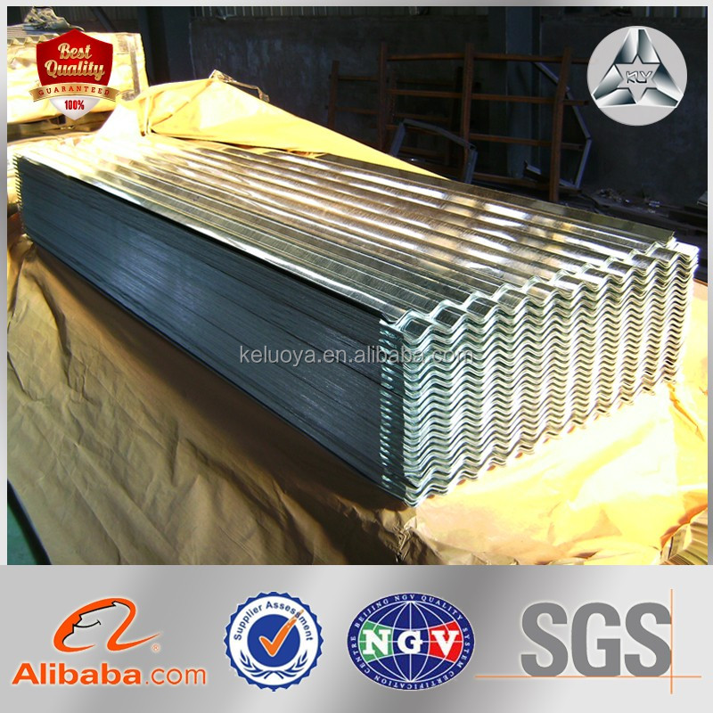high quality ribbed corrugated steel sheet for roofing in competitive price