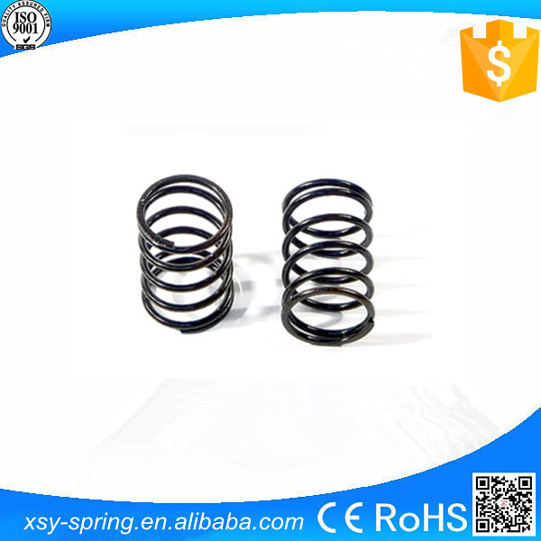 China Black plated retainer compression springs