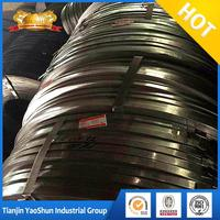 Galvanized steel strip packing strip/ gi iron strip checker plate mill roll