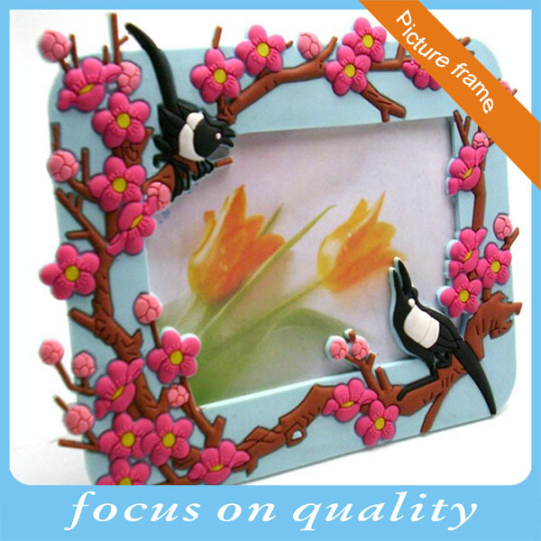 flexible pvc injection high quality house desk stand customized rubber classical vinyl frame